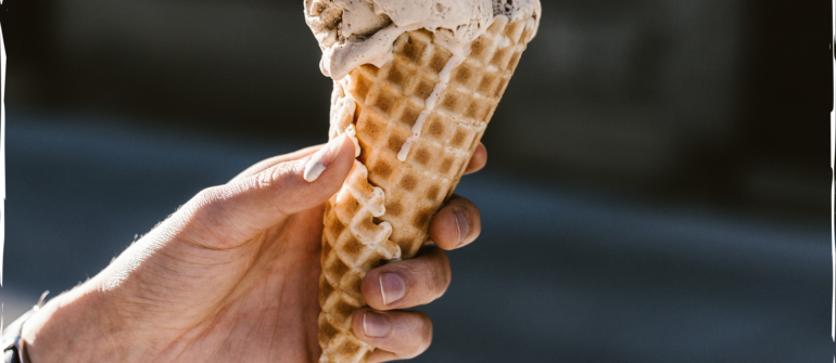 Summer Crush: Ina's Espresso Ice Cream